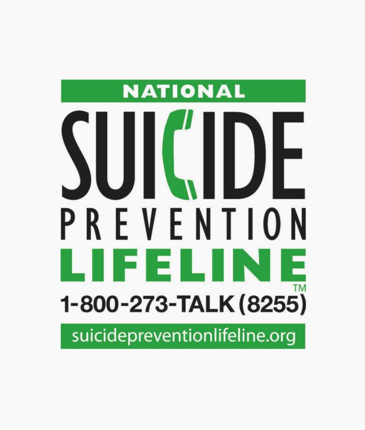 National Suicide Prevention Hotline Logo